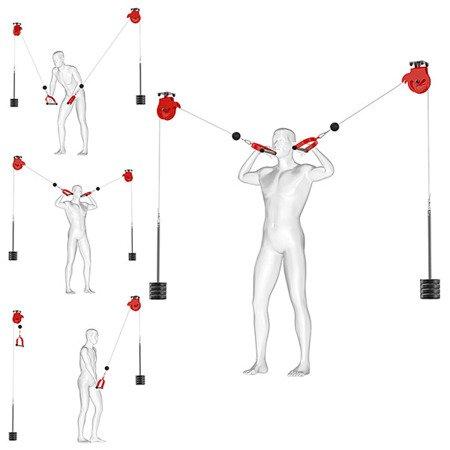 prezentacja cwiczen na bramie treningowej