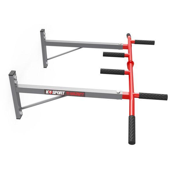 Bezpieczny sprzęt sportowy-Drążek treningowy do ćwiczeń podciągania ścienny+ uchwyt na worek KSH002/SK_VEELES.com2