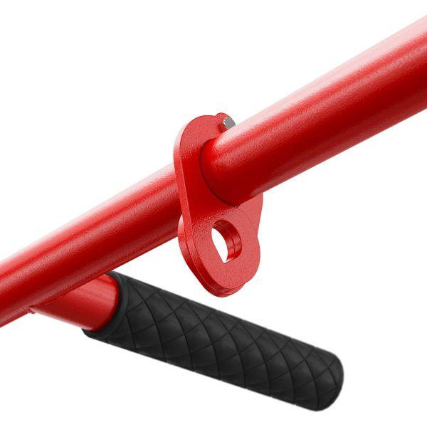 Bezpieczny sprzęt sportowy-Drążek treningowy do ćwiczeń podciągania ścienny+ uchwyt na worek KSH002/SK_VEELES.com4