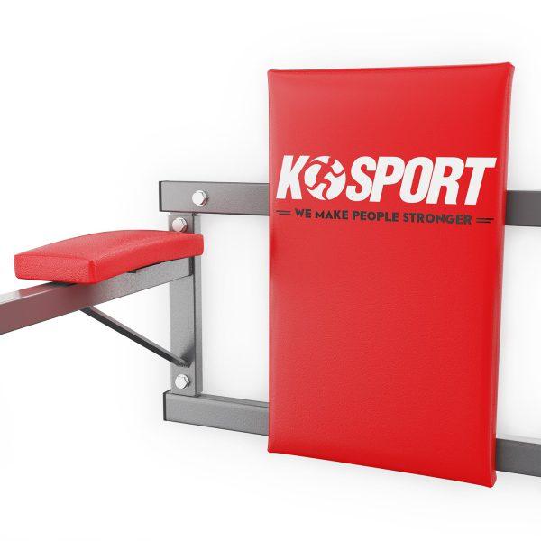 Bezpieczny sprzęt sportowy-Poręcz treningowa do ćwiczeń mięśni brzucha ścienna KSH004/SK_VEELES.com3