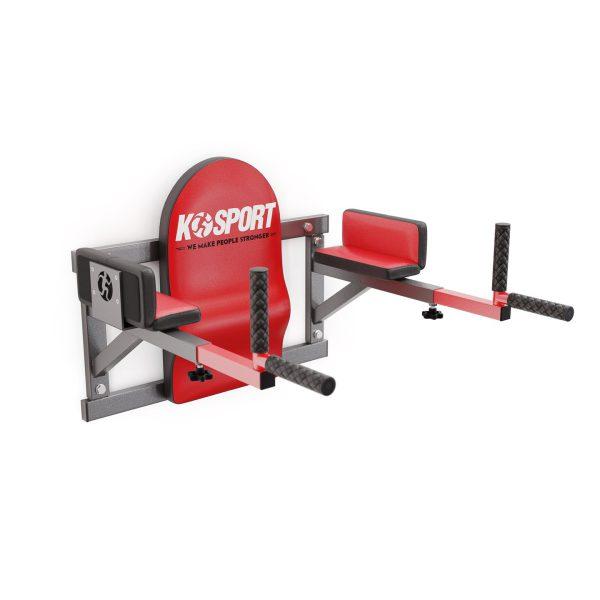 Bezpieczny sprzęt sportowy-Poręcz treningowa do ćwiczeń mięśni brzucha ścienna wyprofilowana KSH005/SK_VEELES.com2
