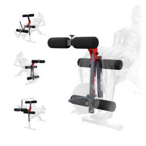 Bezpieczny sprzęt sportowy-Prasa przyrząd do ćwiczeń mięśni UD nogi do ławki KSSL009_VEELES.com