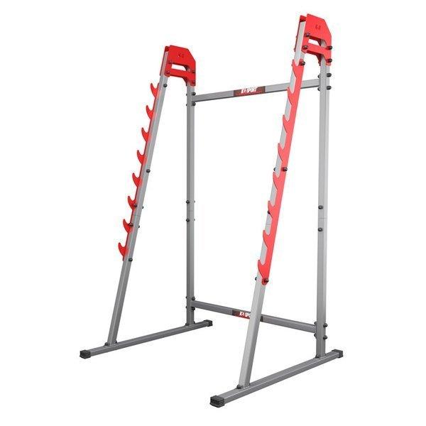 potezny stojak treningowy do cwiczen klatki i przysiadow