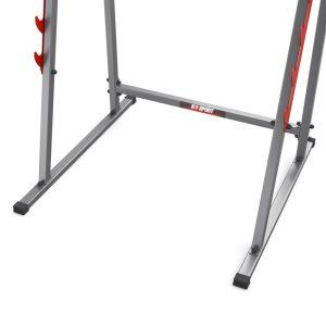 Bezpieczny sprzęt sportowy-Stojaki treningowe do ćwiczeń pod sztangę ławkę z asekuracją KSSL018_VEELES.com3
