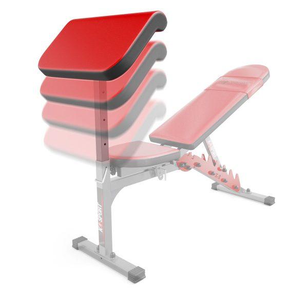 Bezpieczny sprzęt sportowy-Modlitewnik do ćwiczeń pod ławkę KSSL013 K-SPORT_VEELES.com1