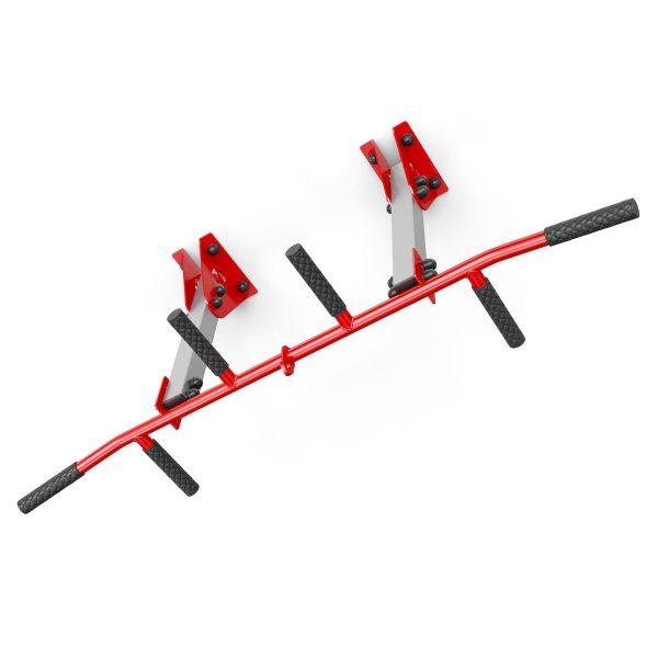 Bezpieczny sprzęt sportowy-Drążek treningowy do ćwiczeń podciągania ściana/sufit KSSL041_VEELES.com4