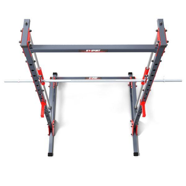 Bezpieczny sprzęt sportowy-Suwnica Smitha-maszyna treningowa  pod ławkę KSSL022_VEELES.com3