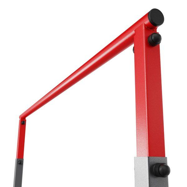 Bezpieczny sprzęt sportowy-Drążek treningowy do podciągania stacjonarny do ćwiczeń+poręcz KSSL060/DIP_VEELES.com1