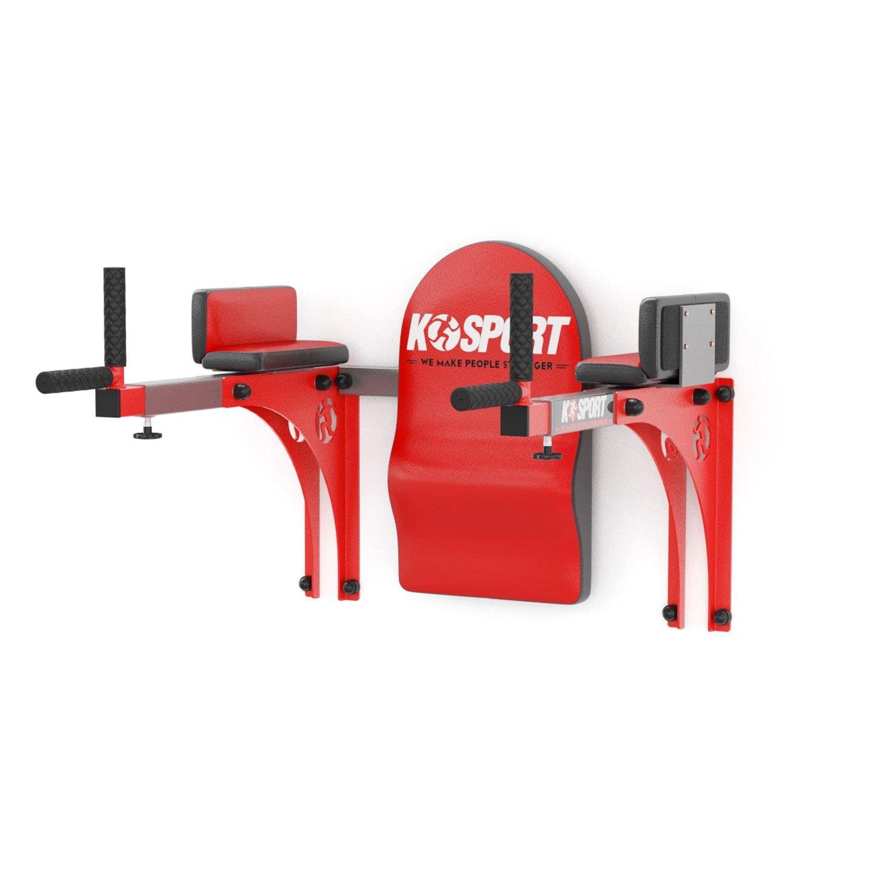 Bezpieczny sprzęt sportowy-Regulowane poręcze treningowe do ćwiczeń mięśni brzucha DIP KSSL015_VEELES.com2