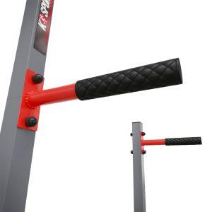 Bezpieczny sprzęt sportowy-Drążek+poręcze do podciągania zewnętrzny ogrodowy-uchwyt na worek street workout  KSOZ002_VEELES.com1