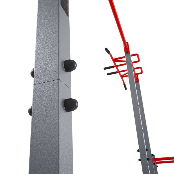 Bezpieczny sprzęt sportowy-Drążek ogrodowy stacjonarny zewnętrzny + poręcze drabinką MONKEYBAR-street workout  KSOZ005_VEELES.com4