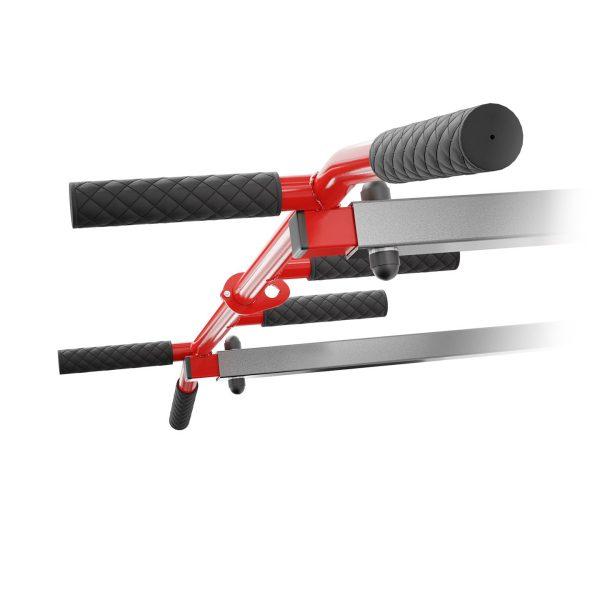 Bezpieczny sprzęt sportowy-Drążek do podciągania ćwiczeń poręcz na ścianę 2W1 KSSL081/2_VEELES.com1