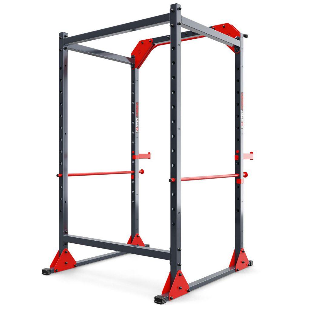 Bezpieczny sprzęt sportowy-Klatka RACK+DRĄŻEK wielofunkcyjna do ćwiczeń  K-SPORT  KSSL025_VEELES.com2