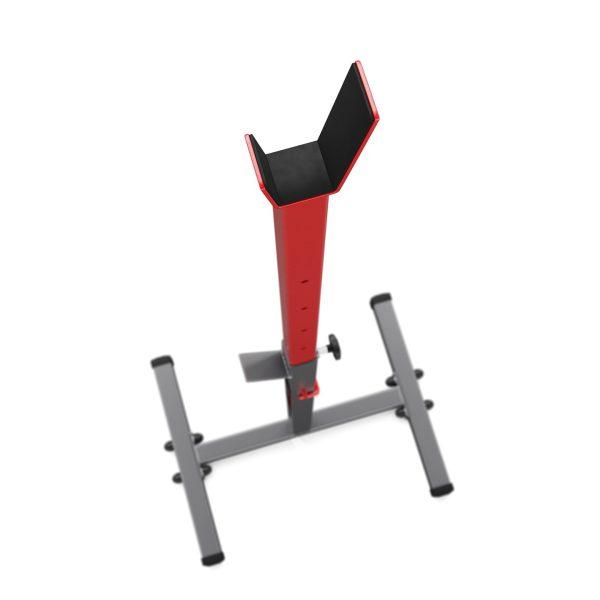 Bezpieczny sprzęt sportowy-KSH012 Stojaki(2szt) treningowe do ćwiczeń pod sztangę ławkę gryf 280kg_VEELES.com2