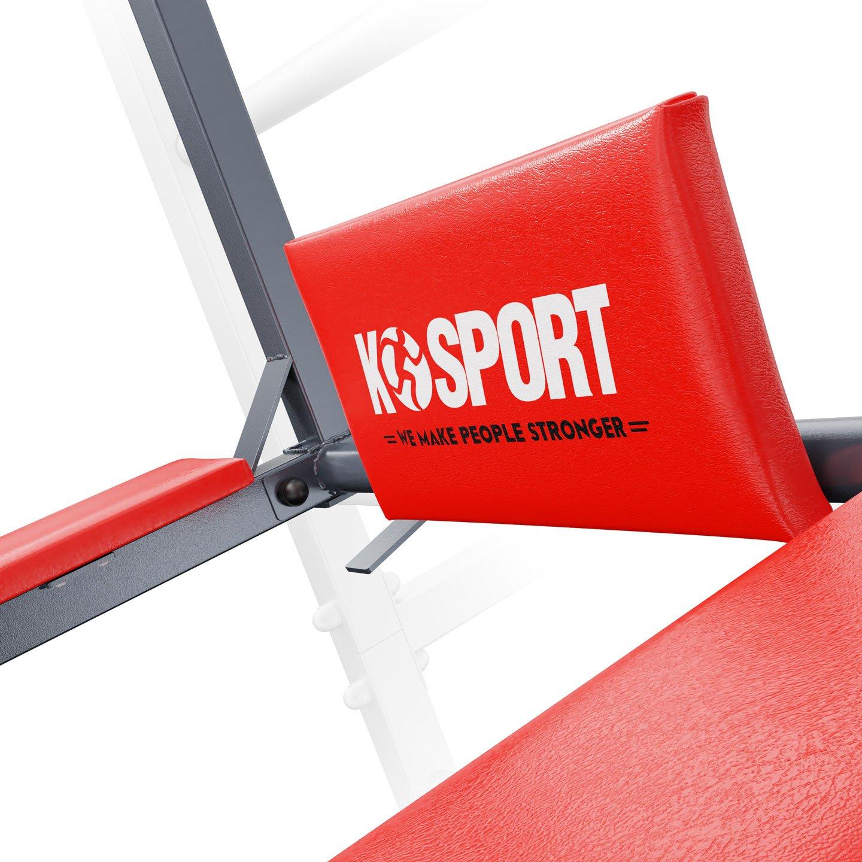 Bezpieczny sprzęt sportowy-DRĄŻEK+PORĘCZ do ćwiczeń podciągania na drabinkę 2W1 KSSL080/3_VEELES.com4