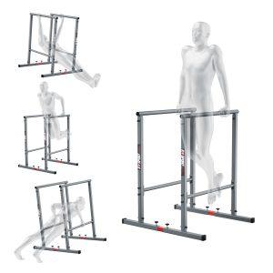 Bezpieczny sprzęt sportowy-Poręcze stacjonarne do pompek treningowe do ćwiczeń mięśni brzucha uchwyt KSH025_VEELES.com