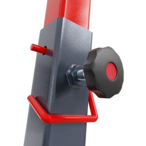 Bezpieczny sprzęt sportowy-Stojak treningowy do ćwiczeń pod ławkę sztangę gryf modlitewnik  KSH016_VEELES.com1