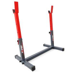 Bezpieczny sprzęt sportowy-Stojak treningowy do ćwiczeń pod ławkę sztangę gryf modlitewnik  KSH016_VEELES.com2