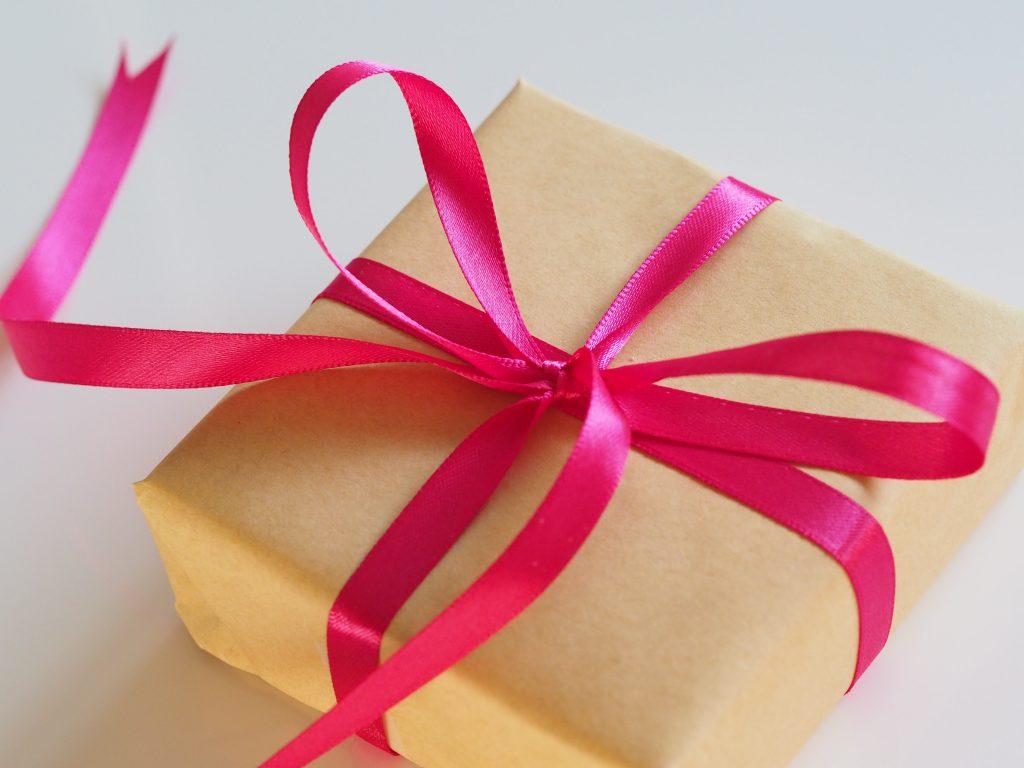 prezent ze wstążką - nagradzaj sięe