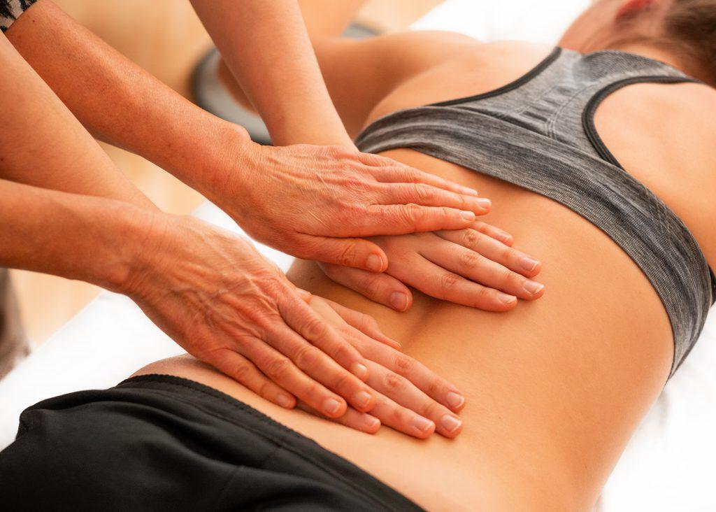 potreningowy masaż mięśni